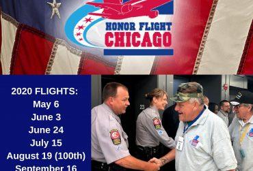 2020 Honor Flight Chicago Schedule
